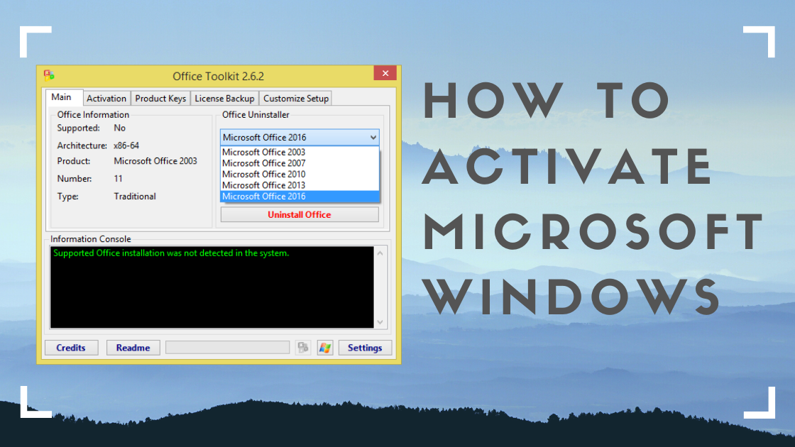 microsoft toolkit, how to activate microsoft windows, activate Windows 10